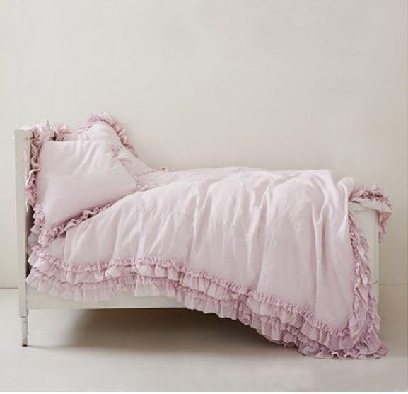 100% Cotton Lace Duvet Cover