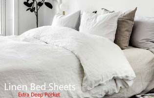 Heirloom Quality Bed Linens And Home Decor, Crafted From 100% Linen Flax.