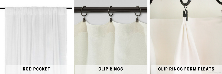 Measure And Hang Curtain Dry Panels, How To Hang A Curtain With Rings